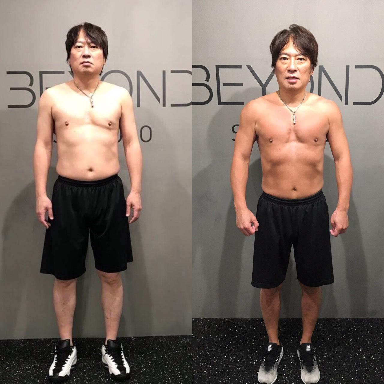 50代男性 ベンチプレス+45kg【強い男への道】