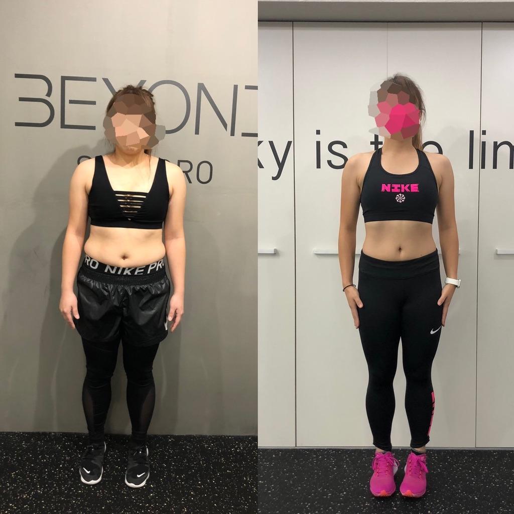 20代、女性【無理なく痩せる】2ヶ月で6kg減!