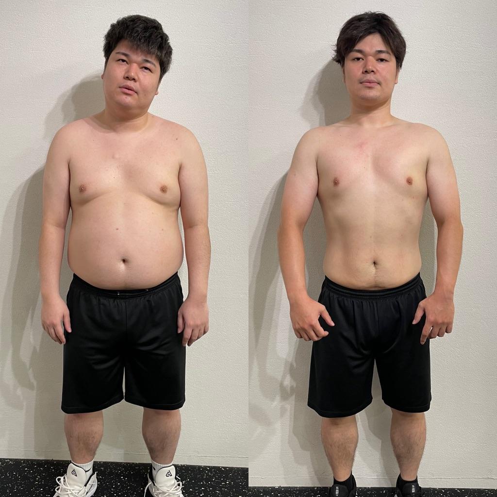 【マイナス22kg】大好評ビフォーアフター